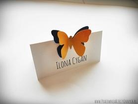 Winietki z podwójnymi motylkami /MOTYL I/