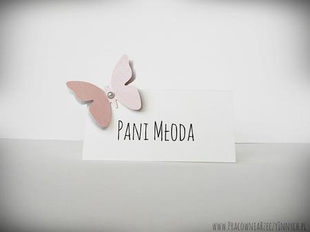Winietki z podwójnymi motylkami /MOTYL I/ (4)