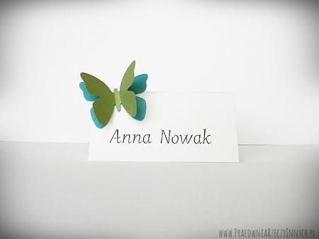 Winietki z podwójnymi motylkami /MOTYL I/ (3)