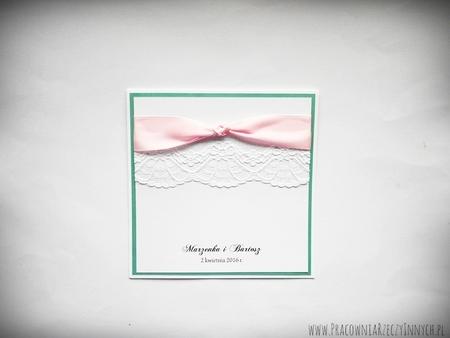 Eleganckie zaproszenia z koronkami (4)