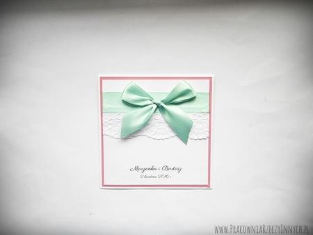 Eleganckie zaproszenia z koronkami (2)