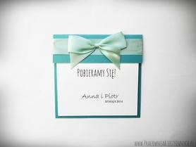 Klasyczne zaproszenia ślubne