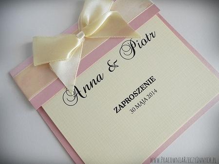 Klasyczne zaproszenia ślubne (8)