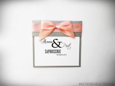 Klasyczne zaproszenia ślubne (2)