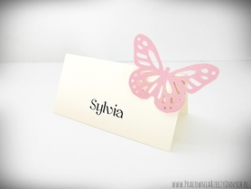Winietki z ażurowymi motylkami /BUTTERFLY/