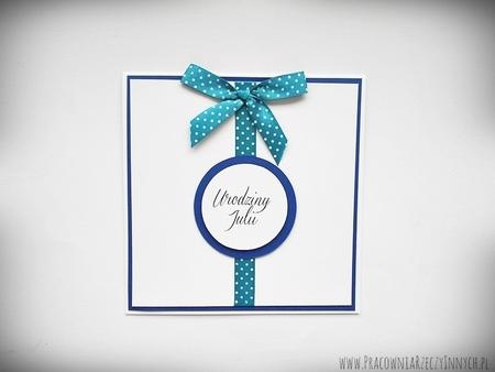 Zaproszenia ślubne z kokardą (8)