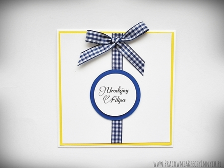 Zaproszenia ślubne z kokardą (11)