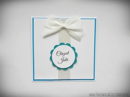 Zaproszenia ślubne z kokardą (9)