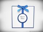 Zaproszenia ślubne z kokardą (6)