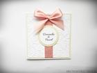 Ślubne zaproszenia na tłoczonym papierze (6)