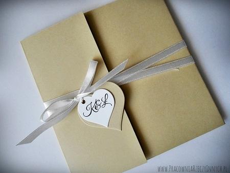 Rustykalne zaproszenia z eko-papieru (16)