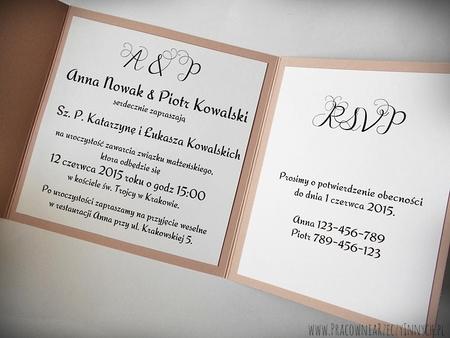 Rustykalne zaproszenia z eko-papieru (22)