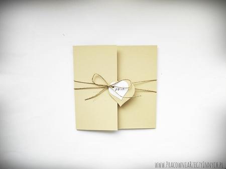 Rustykalne zaproszenia z eko-papieru (7)