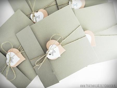 Rustykalne zaproszenia z eko-papieru (4)