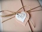 Rustykalne zaproszenia z eko-papieru (18)