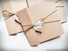 Rustykalne zaproszenia z eko-papieru (26)