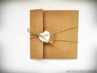 Rustykalne zaproszenia z eko-papieru (5)