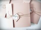 Rustykalne zaproszenia z eko-papieru (27)