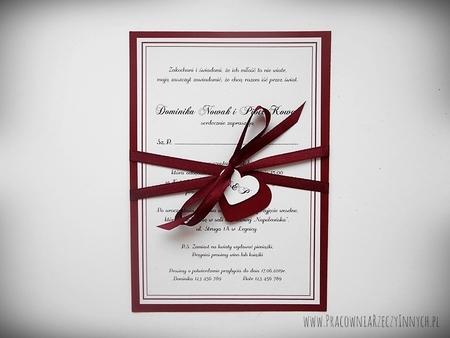 Zaproszenie z ramką w formie karty. (3)