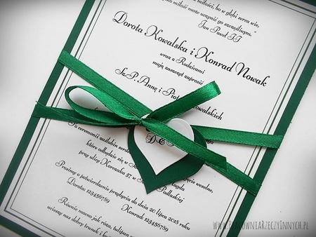 Zaproszenie z ramką w formie karty. (6)