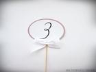 Okrągłe numery stołów na patyczku do wbicia (3)