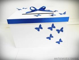 Pudełko na koperty - dowolne zdobienia
