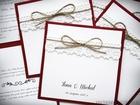 Rustykalne zaproszenia ze sznurkiem (4)