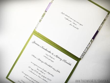 Kolorowe zaproszenia z koronkami (10)