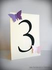 Numery stołów z motylami /MOTYL II/ (5)