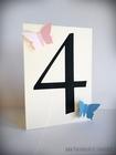 Numery stołów z motylami /MOTYL II/ (7)
