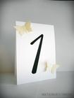 Numery stołów z motylami /MOTYL II/ (8)