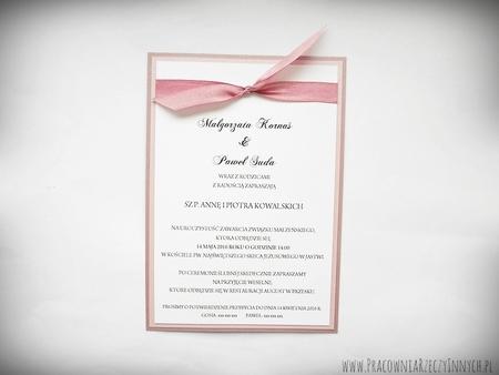 Eleganckie zaproszenia ślubne (2)