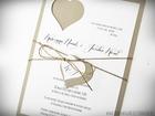 Rustykalne zaproszenia z wyciętym sercem (2)