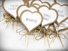 Pikery w kształcie serduszek, podziękowania, etykiety (6)