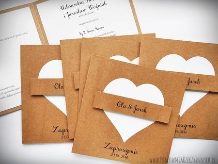 Zaproszenie z eko sercem (3)