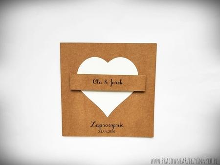 Zaproszenie z eko sercem (1)