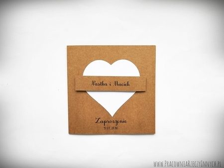 Zaproszenie z eko sercem (5)