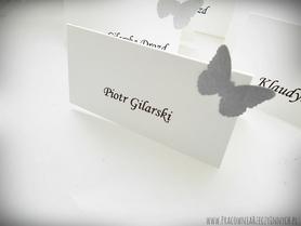 Winietki z motylkami /MOTYL III/