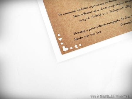 Rustykalne zaproszenie ze zdobionymi rogami (3)