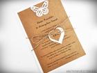 Eko zaproszenia z motylami, ptaszkami lub innymi (4)