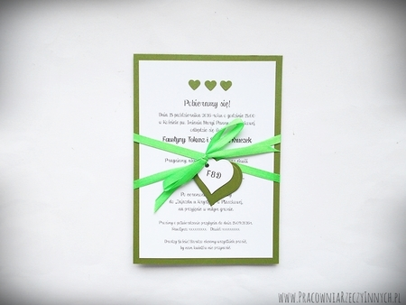 Kolorowe zaproszenia z serduszkami (3)