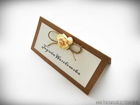 Rustykalna winietka z kwiatuszkiem (4)