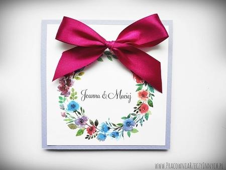 Kolorowe zaproszenia z kwiatami (13)