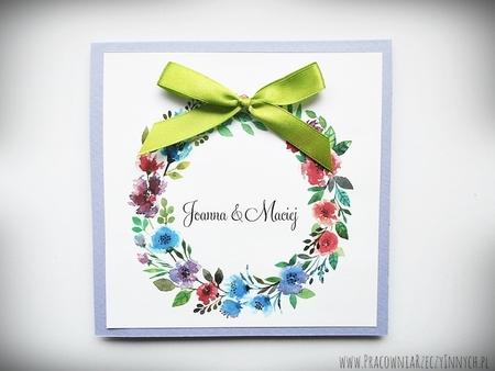 Kolorowe zaproszenia z kwiatami (14)