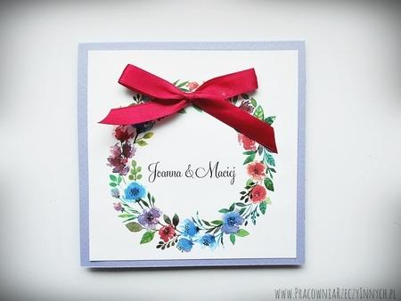 Kolorowe zaproszenia z kwiatami (18)