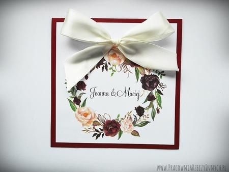 Kolorowe zaproszenia z kwiatami (19)