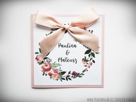 Kolorowe zaproszenia z kwiatami (1)