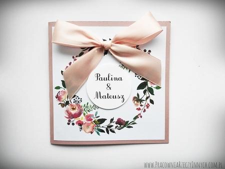 Kolorowe zaproszenia z kwiatami (3)