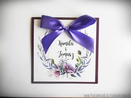Kolorowe zaproszenia z kwiatami (5)
