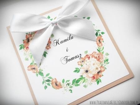 Kolorowe zaproszenia z kwiatami (25)